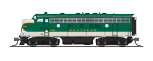 3809 N-SCALE BLI EMD F7A, SOU 4257, As-Delivered Green, Paragon3 Sound/DC/DCC