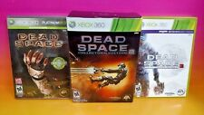 Dead Space 1 2 3 Microsoft Xbox 360 Trilogy Game Bundle Collector's Edition