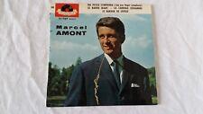 Vinyle 45 tours Marcel AMONT Ma petite symphonie, Le rapide blanc, La cariole