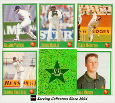 1996-97 Select Cricket Stickers Base Stickers Set (156)-International