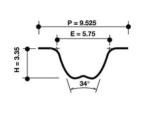 Dayco Timing Belt 94221 fits Suzuki Alto 1.0 (EF)