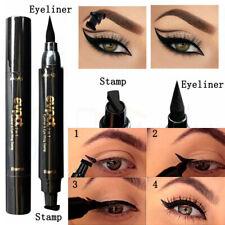 Fashion Women's Long Lasting Winged Liquid Eyeliner Stamp Makeup Eye Liner Pen