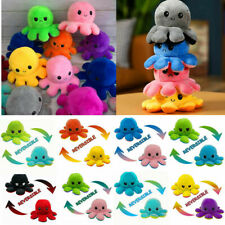 Animal Home Accessories Gift Octopus Plush Reversible Soft Mood Flip Stuffed Toy
