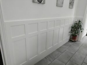 Wall Panelling Medite Moisture Resistant mdf Edwardian Panels with backboards