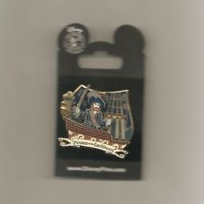 Pirates of the Caribbean - Attraction - Barbossa on Ship 3D Pin on Pin