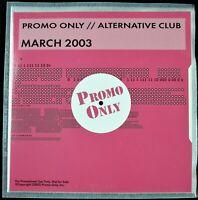 "PROMO ONLY ""ALTERNATIVE CLUB MARCH 2003"" DJ PROMO CD COMPILATION ERASURE *NEW*"