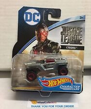 Cyborg * Dc Justice League * 2017 Character Cars Hot Wheels * C6