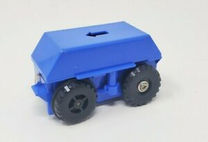 TOMY Big Loader 1977 Motorized Chassis Blue Tested Working