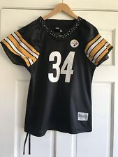 Pittsburgh Steelers Rhinestone Jersey 34 Mendenhall Reebok Womens Large