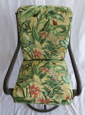 Set of 6 Outdoor Cushion Covers, Pool Patio Porch Lawn Dining Chair - Floral