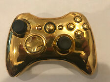 GamingModz Gold colored Xbox 360 Modded wireless controller