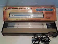 "Coralife Aqualight Deluxe Series Single Linear Strip 20"" 28 Watt  00006000"