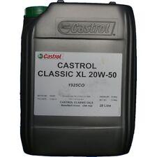 20 Litres Huile Castrol Classic 20w50
