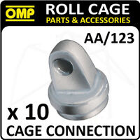 AA/123 OMP ROLL CAGE REINFORCEMENT CONNECTION PACK (x10) FIA APPROVED RACE/RALLY