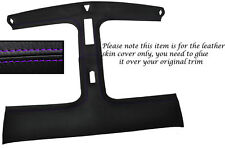 PURPLE STITCH T BAR TARGA TOP LEATHER SKIN COVER FITS NISSAN 300ZX Z32 90-96
