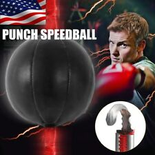 Double End Punch Bag Speed Ball, Punching Speedbag Boxing Speedball PU Leather