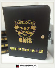 AFL CLUB COLLECTORS TRADING CARDS ALBUM (Inc.10 Pages) -- GEELONG