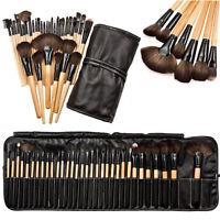 32pcs Professionale Soft Trucco Pennelli Cosmetici Makeup Brush Set + Pouch Bag