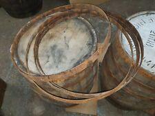 More details for 1x reclaimed metal whisky barrel hoop / band / ring