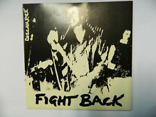 """Discharge – Fight Back - CLAY 3 - 7""""  Vinyl Punk"""