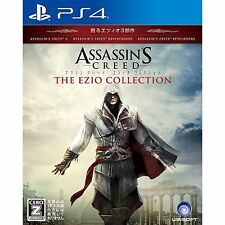 Assassin's Creed The Ezio Collection SONY PS4 JAPANESE NEW JAPANZON