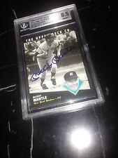 BGS 8.5 Auto Mickey Mantle 1994 Heroes Autograph Yankee Great HOF/1000