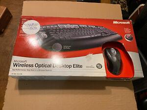 Microsoft Wireless Optical Desktop Elite - US English New