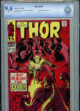 Mighty Thor # 153 Marvel Comics CBCS 9.6 NM+ 1968