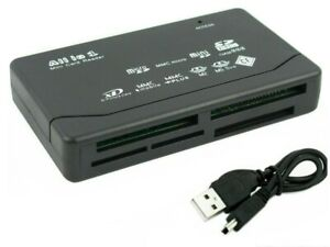 New 26-IN-1 USB 2.0 High Speed Memory Card Reader For CF xD SD MS SDHC