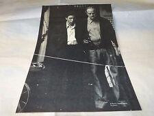AL PACINO & MARLON BRANDO - Mini poster Noir & blanc !!! LE PARRAIN !!!!!!