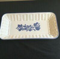 Pfaltzgraff YORKTOWNE Bread Basket Tray