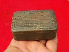 VINTAGE BEAUTIFUL LITHO ADV. MEDICAL TAPES WITH INTRODUCTION TIN BOX