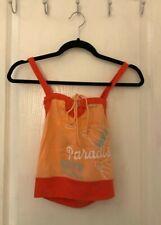 MEXX Strap boobtube style cami top - Size Medium (8-10) - Orange