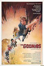 POSTER THE GOONIES I STEVEN SPIELBERG SEAN ASTIN JOSH BROLIN DVD FILM FOTO #1