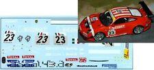 1/43 Decal Porsche 911 GT3 RSR BMS Winner 24h Spa 2010
