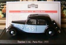 CITROEN TRACTION AVANT 11 AL PARIS NICE 1935 1/43 NOIRE