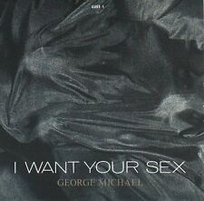 """GEORGE MICHAEL I Want Your Sex (WHAM)  PICTURE SLEEVE 7"""" 45 rpm record BRAND NEW"""