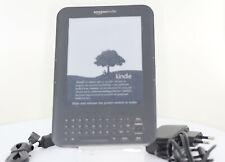 Amazon Kindle Keyboard Free 3G + WLAN B00A** Grau ereader ebook reader *Riss