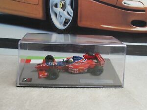 1996 ARROWS HART FA17 - RICARDO ROSSETT - 1/43 SCALE MODEL CAR - F1 CIRCUIT CASE