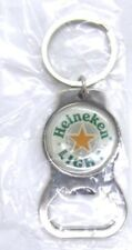 Heineken Light Metal Bottle Opener and Keychain New in Package Beer Advertising