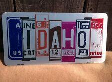 Idaho License Plate Art Wholesale Novelty Bar Wall Decor