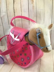 Pet Carrier With Ponie  (P)
