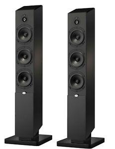 PAIR *NEW* NHT MS Tower Dolby Atmos Floor Standing Tower Speaker