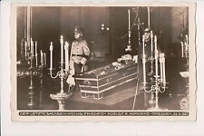 Vintage Postcard Funeral of King Frederick Augustus III of Saxony Military