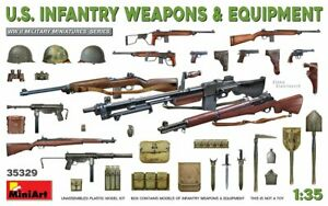 Miniart 1/35 US Infantry Weapons & Equipment 35329