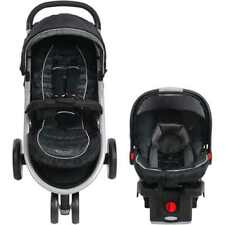 Graco Aire3 Click Connect 3-Wheel Stroller Travel System, Gotham