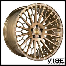 """20"""" STANCE SF02 BRONZE FORGED CONCAVE WHEELS RIMS FITS MERCEDES W220 S430 S500"""