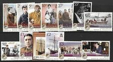 S.GEORGIA&S.SANDWICH SG467/78 2009 SHACKLETON MNH