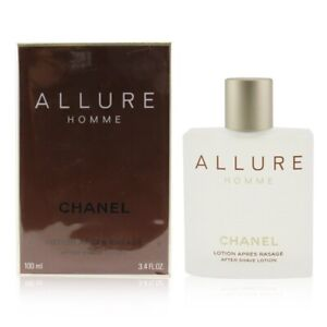Chanel Allure After Shave Splash 100ml Men's Perfume