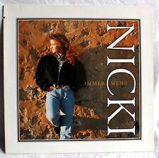 "12"" Vinyl NICKI - Immer mehr"